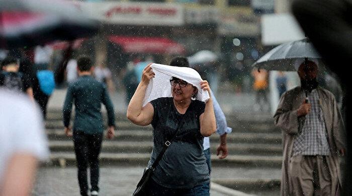 Meteoroloji'den 7 il için sağanak uyarısı