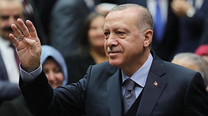Cumhurbaşkanı Erdoğan'dan 12 dev adama destek