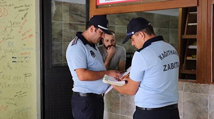 GZT okulun arkasındaki yasa dışı satışa dikkat çekmişti, Kağıthane Belediyesi harekete geçti