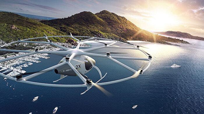 Volocopter, mobil uygulamayla çağırabileceğiniz hava taksi hizmetini test ediyor