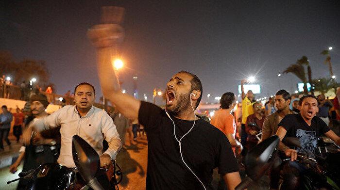 Mısır'da Cumhurbaşkanı Sisi aleyhine gösteriler