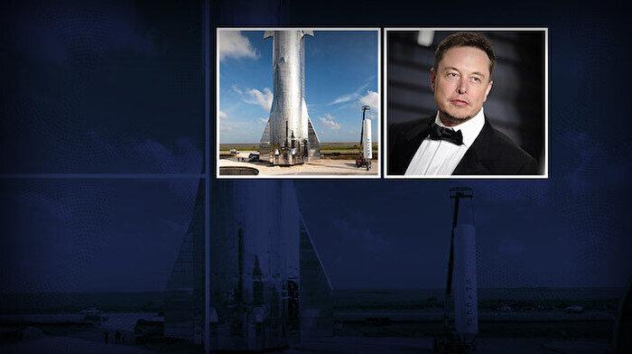 Elon Musk Mars aracı Starship'in görüntülerini paylaştı
