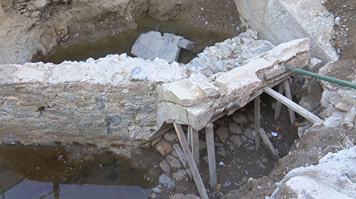 İstanbul Üsküdar'da Osmanlı döneminden kalıntılar ortaya çıktı