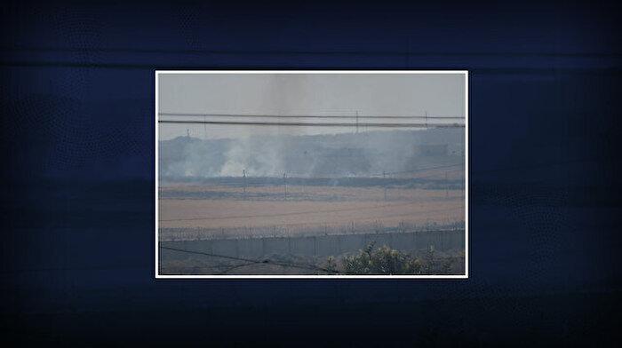 YPG ne yapacağını şaşırdı: Bölgeyi ateşe verdiler