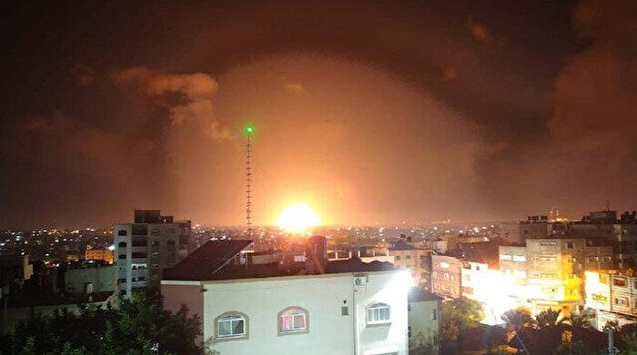 İsrail yine Gazze'yi hedef aldı