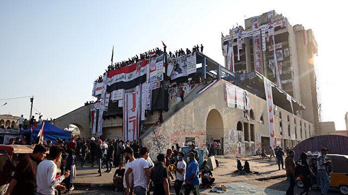 Bağdat'ta göstericilerin kalesi: Türk Lokantası