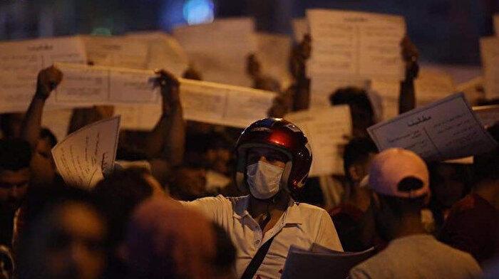 Irak'taki göstericilere müdahale: 15 yaralı