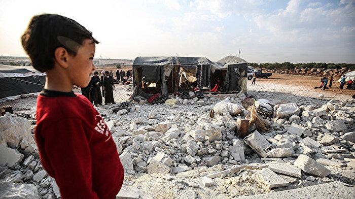 İdlib'de sivil kayıplar: Geçen ay 75 sivil öldürüldü