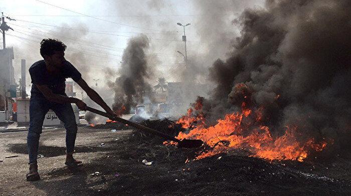 Irak'tan alevler yükselmeye devam ediyor: 4 kişi daha hayatını kaybetti