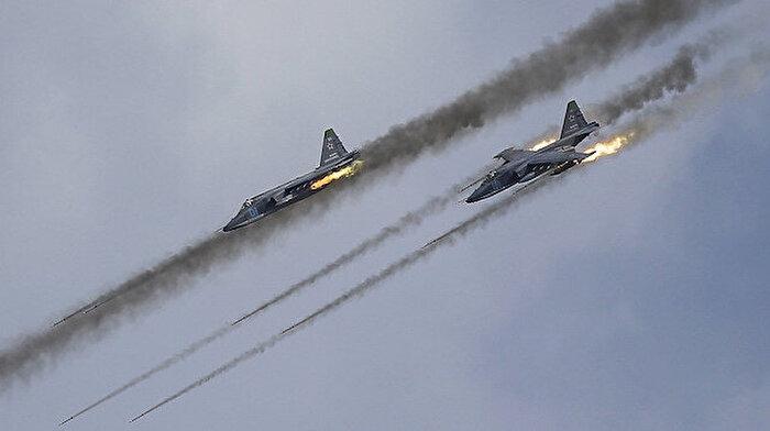 Rusya'dan İdlib'e hava saldırısı: 9 sivil hayatını kaybetti, 10 sivil yaralandı