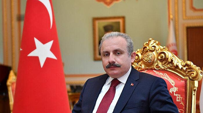 TBMM Başkanı Mustafa Şentop Haluk Bilginer'i tebrik etti
