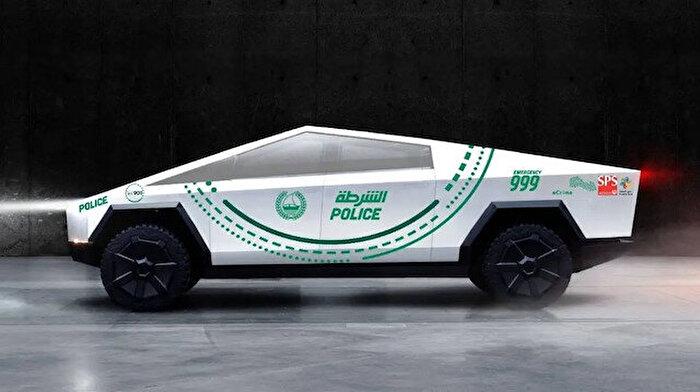Dubai Polisi, Tesla'nın yeni Cybertruck'ının filoya ekleyebileceğini ima etti