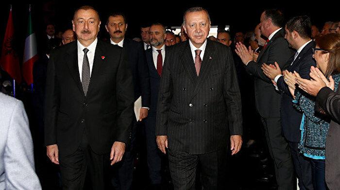 TANAP Avrupa'ya bağlandı: Erdoğan ve Aliyev açılışı birlikte yaptı