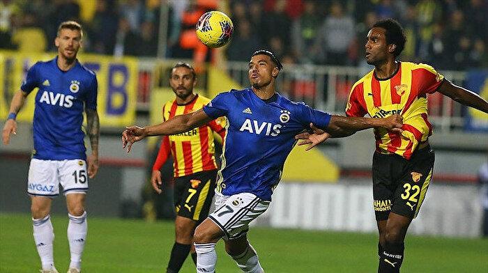 Fenerbahçe Göztepe ile berabere kaldı
