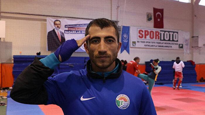Polis memuru Nurettin Diler kick boksta dünya ikincisi oldu