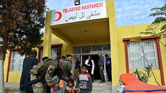 Milli Savunma Bakanlığı: Tel Abyad'da artık yüzler gülüyor