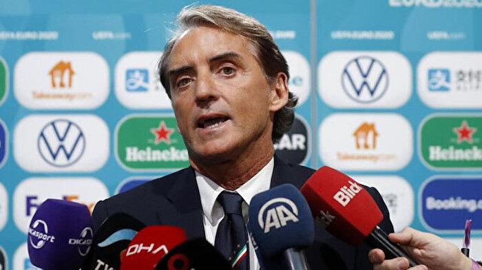 İtalya Milli Takım Teknik Direktörü Mancini: Maçlar sahada oynanır