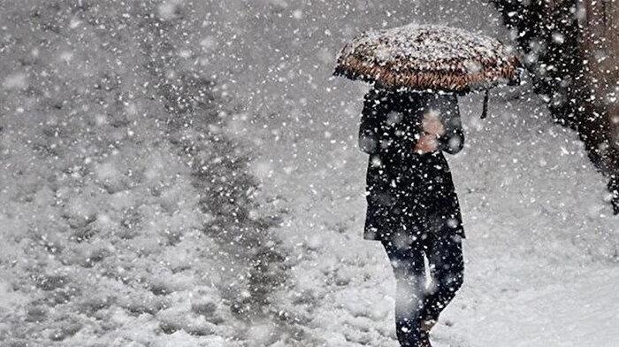 Meteoroloji alarm verdi: Birçok ilde kar yağışı bekleniyor