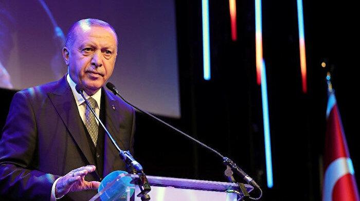 Cumhurbaşkanı Erdoğan'dan net mesaj: Suriye'nin topraklarında gözü olanlar lütfen terk etsin