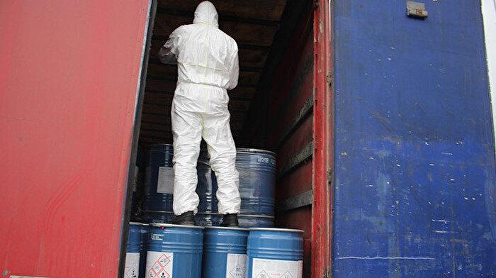 Siyanür Türkiye'de yasaklanmıştı: İran'a kaçırılırken 18,4 ton yakalandı
