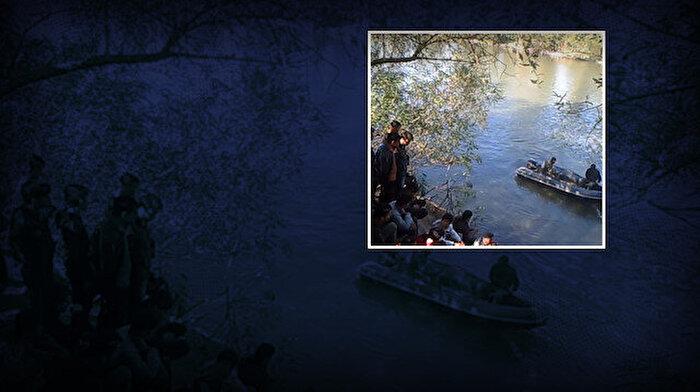 Görüntüler ortaya çıktı: Yunanistan göçmenleri zorla Türkiye'ye gönderiyor