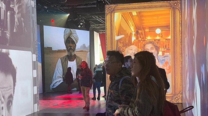 Ara Güler Dijital Fotoğraf Sergisi'ne yoğun ilgi