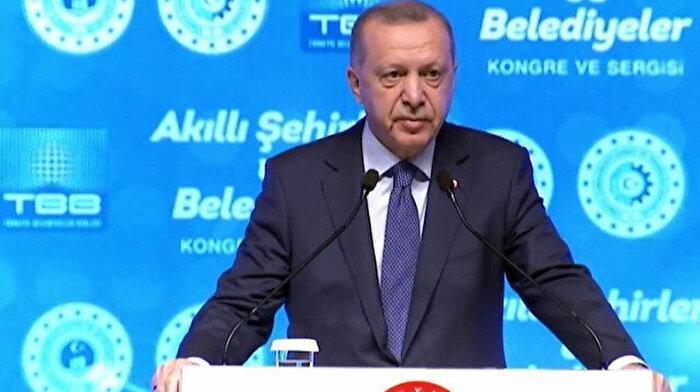 Cumhurbaşkanı Erdoğan: Akıllı şehir uygulamalarında dünya pazarlarına gireceğiz