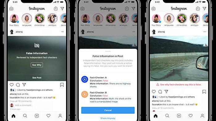 Instagram'ın sahte görüntüleri gizlemesi sanatçılara zarar verebilir