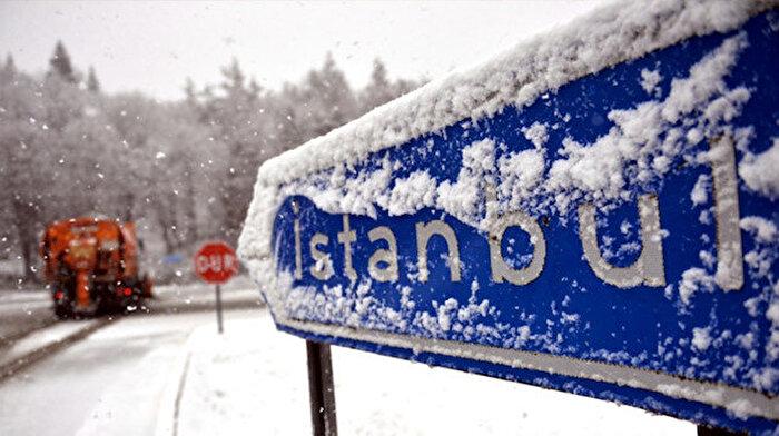 ⛄ Meteoroloji uyardı: İstanbul'a kar geliyor