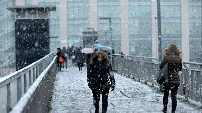 İstanbullular müjde: Kar geliyor