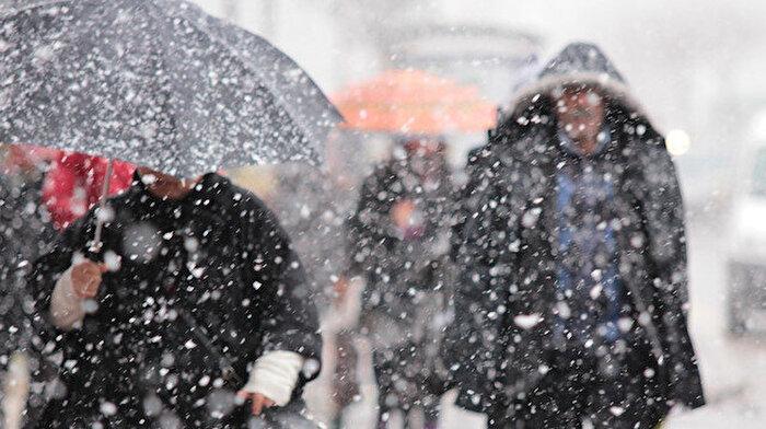 Yurt genelinde hava sıcaklıkları 4 derece azalacak: Yoğun kar yağışı bekleniyor