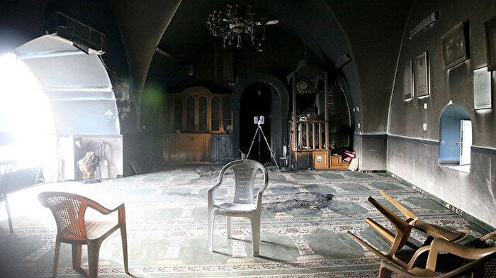 Yahudi yerleşimciler Bedriye Camisi'ni yaktı