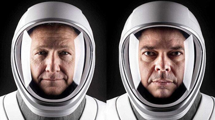 NASA astronotları Bob Behnken ve Doug Hurley, SpaceX'in Nisan'daki görevine hazırlanıyorlar