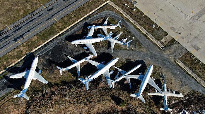 Atatürk Havalimanı'nda çürüyorlar:✈️ Hayalet uçakların sahipleri ortaya çıkmıyor