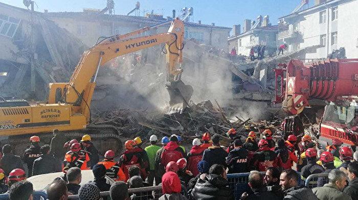 AFAD Elazığ depremi için toplanan yardım miktarını açıkladı