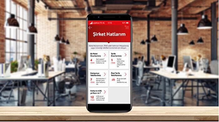 Vodafone Yanımda ile her şey çok daha kolay