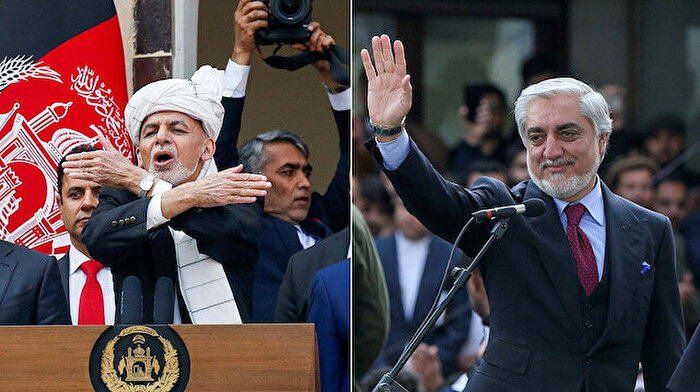 Afganistan'da iki farklı Cumhurbaşkanlığı yemini