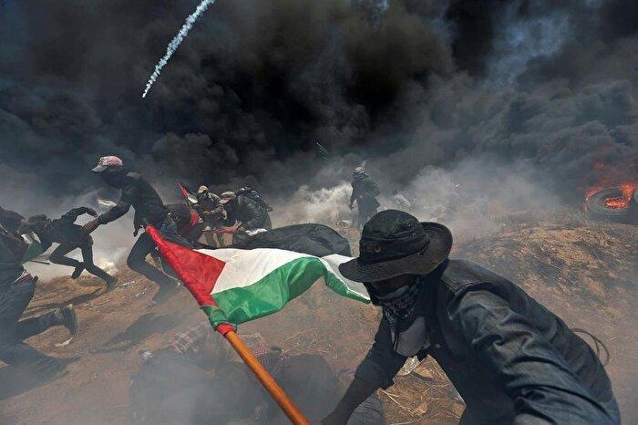 Gazze sınırında katliam