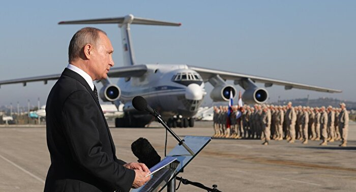 Havada kaos, Rus uçağını düşürdü