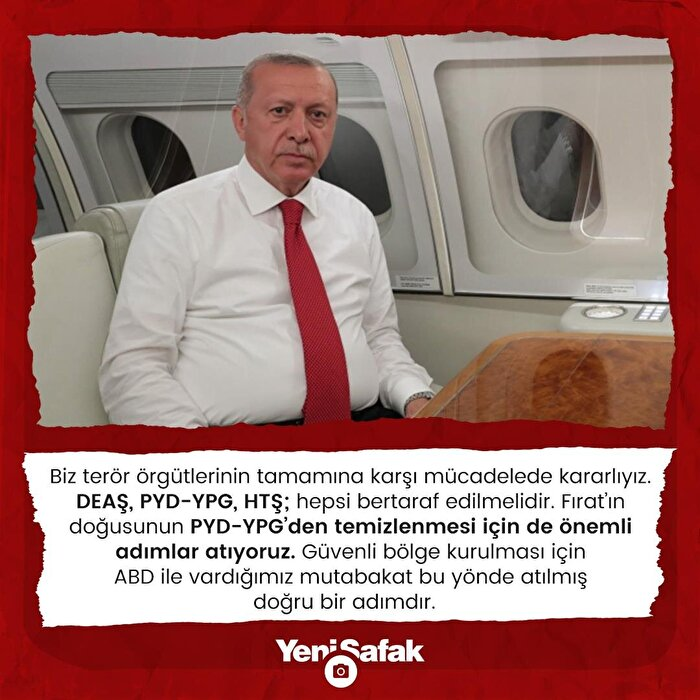 Cumhurbaşkanı Erdoğan: Mücadelede kararlıyız