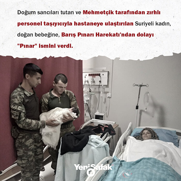 Türk askerine 'Pınar'lı teşekkür