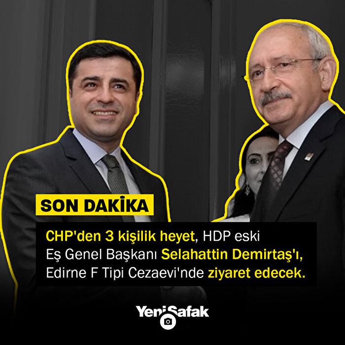 CHP'liler Demirtaş'ı ziyarete gidecek