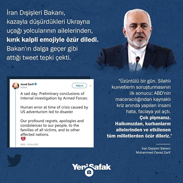 İran Dışişleri Bakanı Zarif,