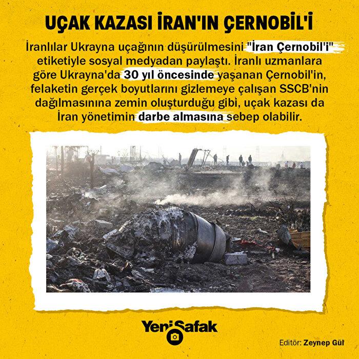 Ukrayna uçağı İran'ın Çernobil'i
