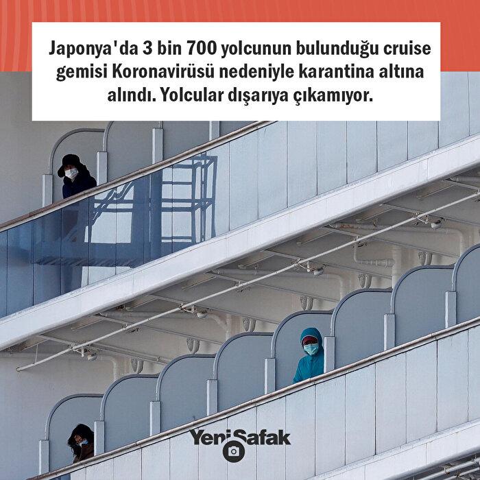 Gemide mahsur kaldılar