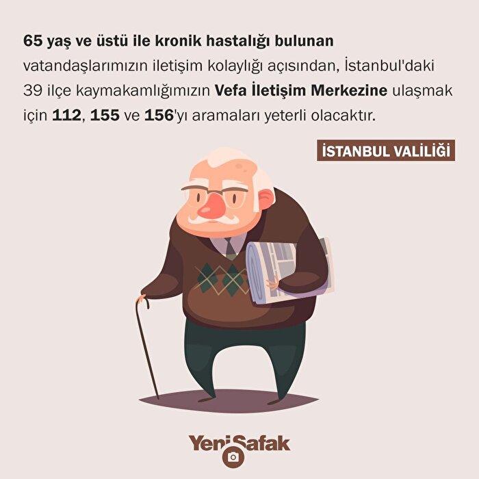 Yaşlılara vefa hattı: 112, 155 ve 156'yı arayabilecekler