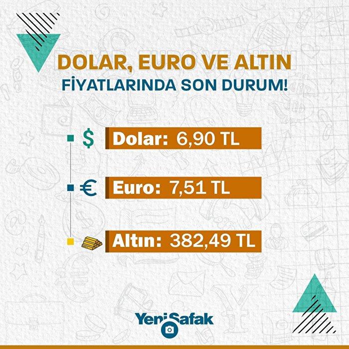 Dolar, Euro ve altın fiyatlarında son durum!