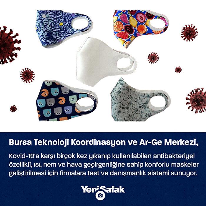 Yaz sıcağına karşı antibakteriyel konforlu maske