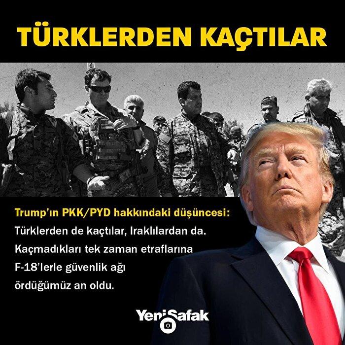 Trump'ın PKK ve PYD düşüncesi sızdı