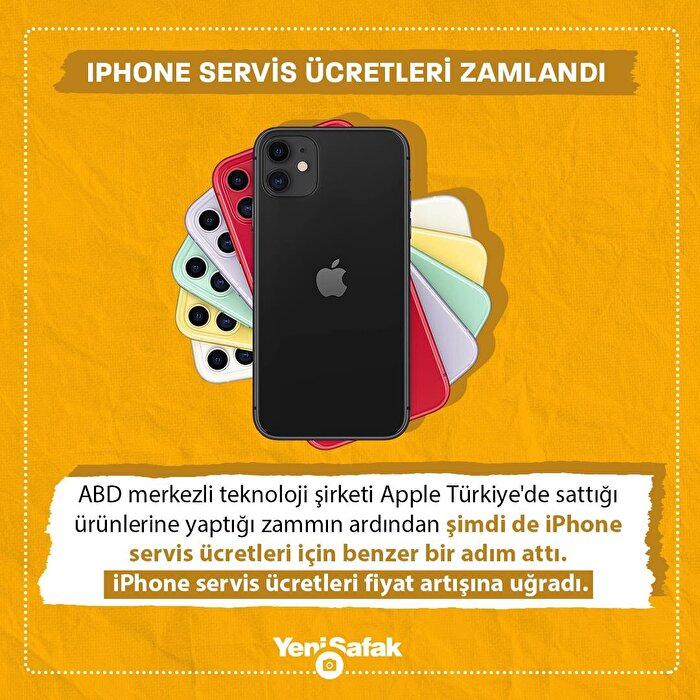 Apple iPhone'lara zam yaptı!
